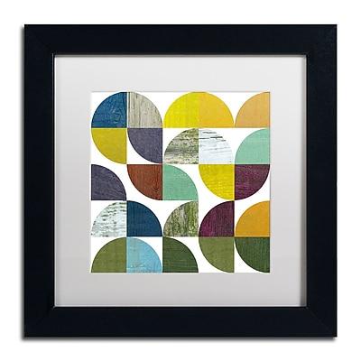 Trademark Fine Art Michelle Calkins 'Rustic Rounds 3.0' 11