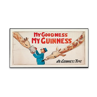 Trademark Fine Art Guinness Brewery 'My Goodness My Guinness III' 10