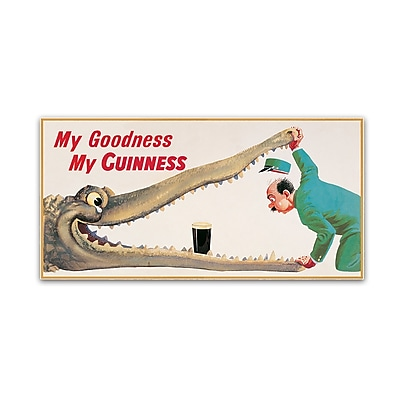 Trademark Fine Art Guinness Brewery 'My Goodness My Guinness XVI' 10