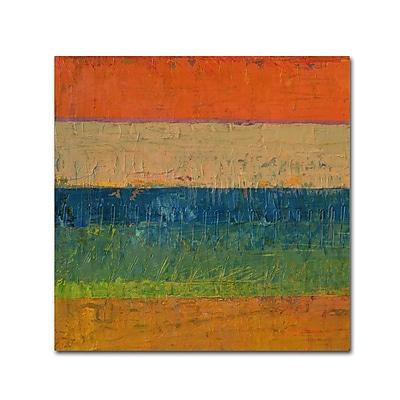 Trademark Fine Art Michelle Calkins 'Lavender Line' 14