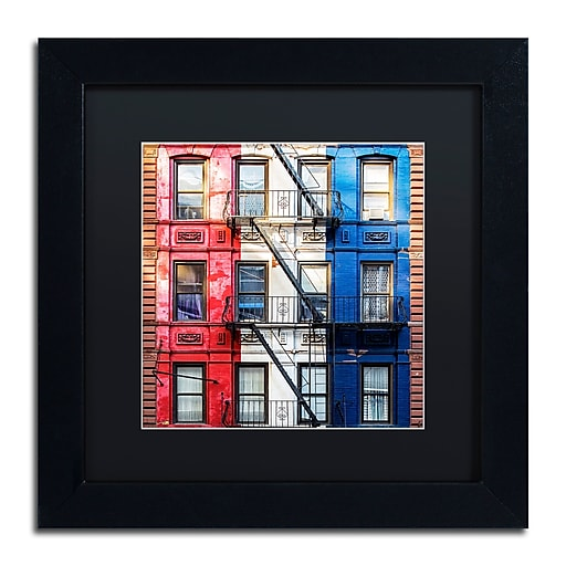 "Trademark Fine Art Philippe Hugonnard 'American Colors' 11"" x 11"" Matted Framed (190836120963)"