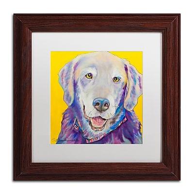 Trademark Fine Art Pat Saunders-White 'Willie' 11