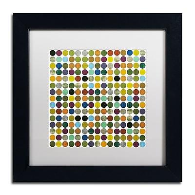 Trademark Fine Art Michelle Calkins 'Rustic Rounds 125' 11
