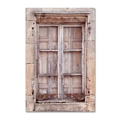 Trademark Fine Art Cora Niele 'French Window I' 12