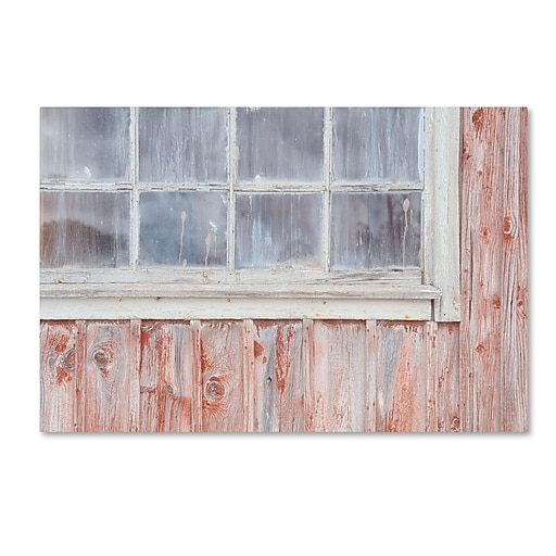"Trademark Fine Art Cora Niele 'Little Windows II' 12"" x 19"" Canvas Stretched (190836313723)"