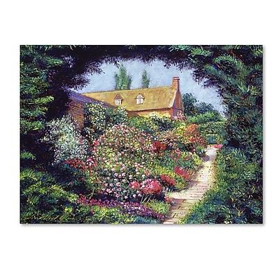 Trademark Fine Art David Lloyd Glover 'English Garden Stroll' 14