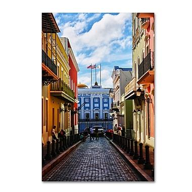 Trademark Fine Art CATeyes 'Old San Juan 7' 12