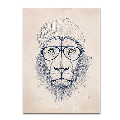 Trademark Fine Art Balazs Solti 'Cool Lion' 14