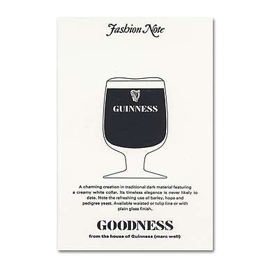 Trademark Fine Art Guinness Brewery 'Goodness' 12