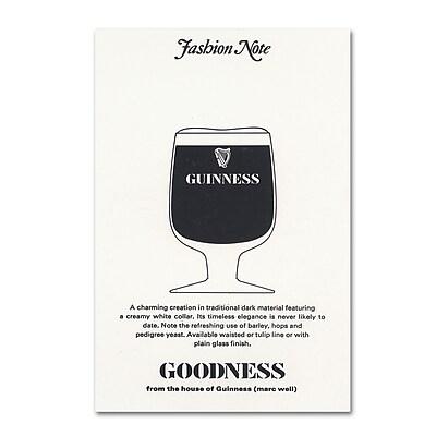 Trademark Fine Art Guinness Brewery 'Goodness' 12
