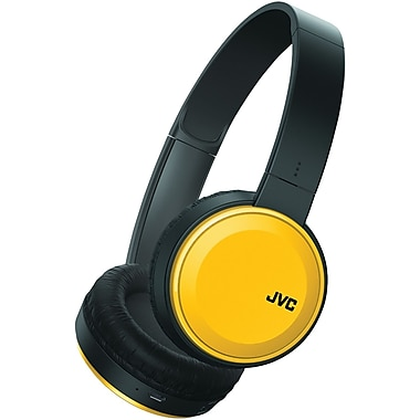 Jvc Has190bty Colorful Bluetooth Headphones (yellow)