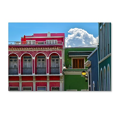 Trademark Fine Art CATeyes 'Old San Juan 10' 12