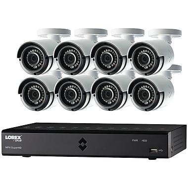 Lorex By Flir Lha21162tc8b 16-channel Mpx 1080p Hd 2tb Dvr With 8 Weatherproof Ir Cameras