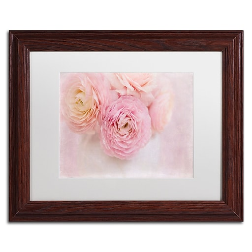 "Trademark Fine Art Cora Niele 'Chique Bouquet' 11"" x 14"" Matted Framed (190836259342)"