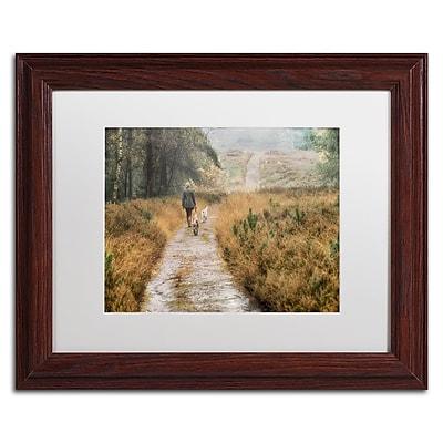 Trademark Fine Art Cora Niele 'Walking the Dogs' 11