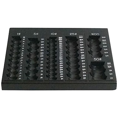 Item Name: MMF Industries Countex II Coin Tray, Beige (221611003)