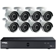 Lorex By Flir Lha41082tc8b 8-channel Mpx 1080p Hd 2tb Dvr With 8 Weatherproof Ir Cameras