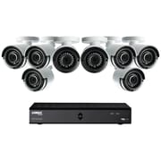 Lorex By Flir Lha21081tc8b 8-channel Mpx 1080p Hd 1tb Dvr With 8 Weatherproof Ir Cameras