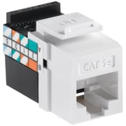Leviton 5g108-rw5 Quickport Cat-5e Jack (white)