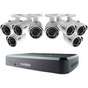 Lorex By Flir Lnr1183tc8b 8-channel 1080p 2tb Nvr With 8 Poe Ip Security Cameras