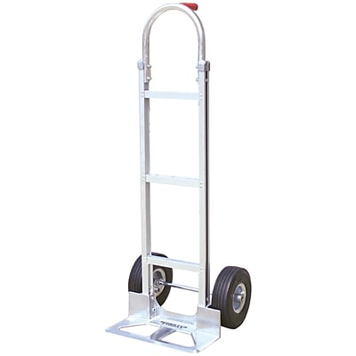 Monster Trucks Mt10008 Aluminum Hand Truck With Foam Rubber Tires (stick Handle)