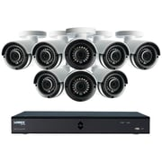 Lorex By Flir Lha42162tc8b 16-channel Mpx 1080p Hd 2tb Dvr With 8 Weatherproof Ir Cameras