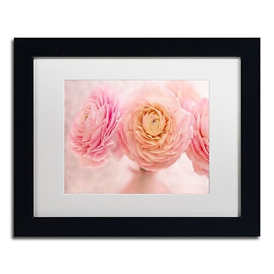 Trademark Fine Art Cora Niele 'Pink Persian Buttercup Bouquet' 11