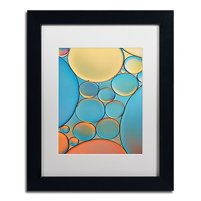 Trademark Fine Art Cora Niele 'Blue and Apricot Drops' 11