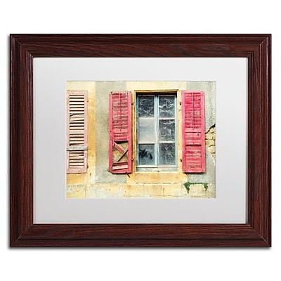 Trademark Fine Art Cora Niele 'Red Shutters' 11