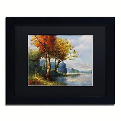 Trademark Fine Art Daniel Moises 'Corot Tribute' 11