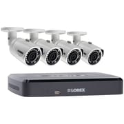 Lorex By Flir Lnr1141tc43b 4-channel 1080p 1tb Nvr With 4 Poe Security Cameras