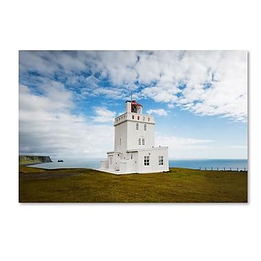 Trademark Fine Art Philippe Sainte-Laudy 'Dyrholaey Lighthouse' 12