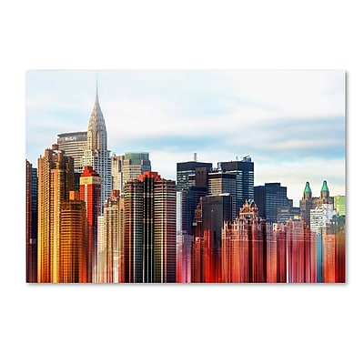 Trademark Fine Art Philippe Hugonnard 'Urban Stretch NYC III' 12