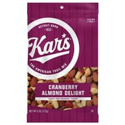 Kar's Fresh Harvest Cranberry Almond Delight, 6 oz., 12/Carton