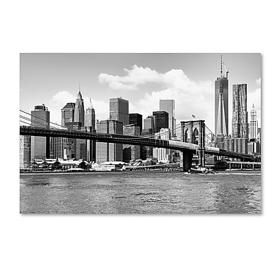 Trademark Fine Art Philippe Hugonnard 'View of Manhattan' 12