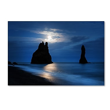 Trademark Fine Art Philippe Sainte-Laudy 'Reynisdrangar Moonlight' 12