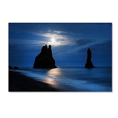 Trademark Fine Art Philippe Sainte-Laudy 'Reynisdrangar Moonlight' 12