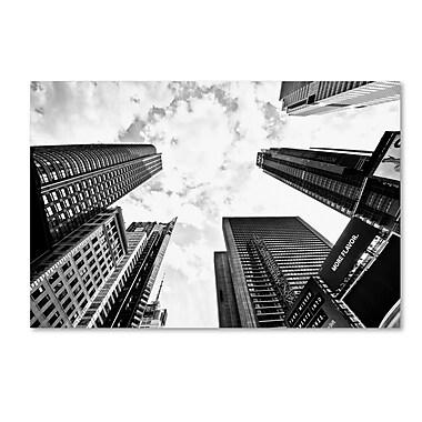 Trademark Fine Art Philippe Hugonnard 'Times Square Skyscrapers' 12