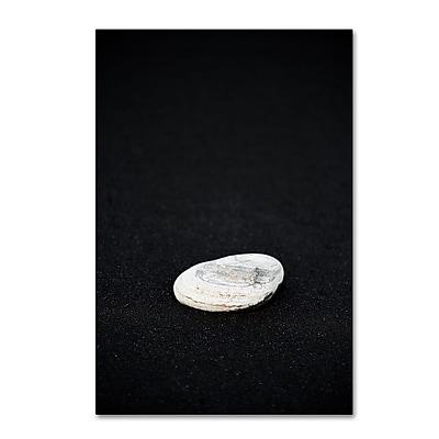 Trademark Fine Art Philippe Sainte-Laudy 'Pebbles on Black Sand' 12