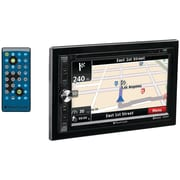 "Planet Audio Pnv9650 6.5"" Double-din In-dash Navigation Touchscreen Dvd Receiver With Bluetooth (without Rear Camera)"