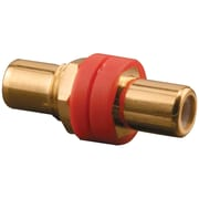 Pro-wire X-rgrg R Rca Front & Back Connectors (red Color-coded Insulator)