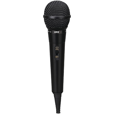 Qfx M-106 Unidirectional Dynamic Microphone With 10ft Cable