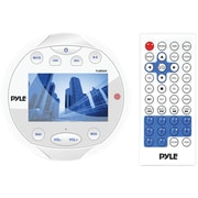 "Pyle Plmr94w Hydra Series 4"" Marine Mechless Digital Media Am/fm Receiver With Bluetooth"