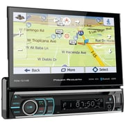 "Power Acoustik® Pdn-721hb 7"" Incite Single-din In-dash GPS Navi Motorized LCD Touchscreen DVD Receiver w/ Detachable Face & BT"