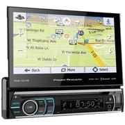 "Power Acoustik Pdn-721hb 7"" Incite Single-din In-dash GPS Navi Motorized LCD Touchscreen DVD Receiver w/ Detachable Face & BT"