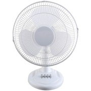 "Optimus F-1211 12"" Oscillating Table Fan"