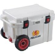 Pelican 32-45qw-mc-wht 45-quart Progear Elite Wheeled Cooler (white)( PLO45QWMCWHT)