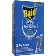 Raid 2pkfstik-raid Jumbo Fly Sticks, 2 Pk