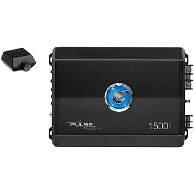 Planet Audio Pl1500.1m Pulse Series Monoblock Class Ab Amp (1,500 Watts Max)