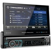 """Power Acoustik Pd-721xb 7"""" Incite Single-din In-dash Motorized Touchscreen LCD DVD Receiver With Detachable Face & Bluetooth"""